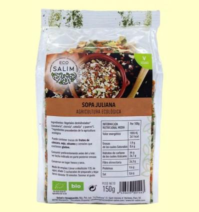 Sopa Juliana Ecológica - Eco-Salim - 150 gramos