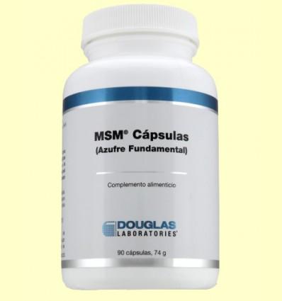 Msm Azufre Fundamental - Laboratorios Douglas - 90 cápsulas
