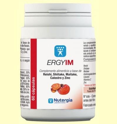 Ergyim - Sistema Inmunitario - Nutergia - 60 cápsulas