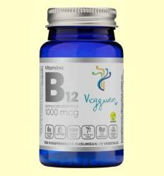 Vitamina B12 1000 mcg - Veggunn - 100 cápsulas