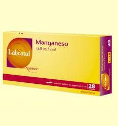 Labcatal 10 - Manganeso - Oligoelementos - 28 ampollas