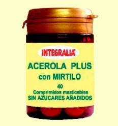 Acerola Plus con Mirtilo - Integralia - 40 comprimidos