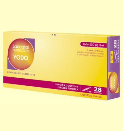Labcatal 7 - Yodo / Iodo - Oligoelementos - 28 ampollas