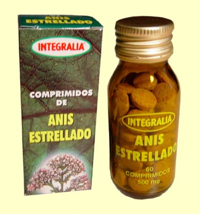 Anis Estrellado - Integralia - 60 comprimidos