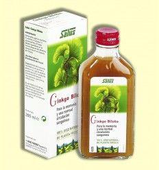 Jugo de planta fresca GINKGO - Salus - 200 ml