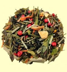 REGALO - Té Beso del Caribe - Mezcla de Té Negro y Verde - 100 g