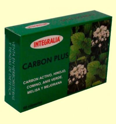Carbón Plus - Bienestar Digestivo - Integralia - 60 cápsulas