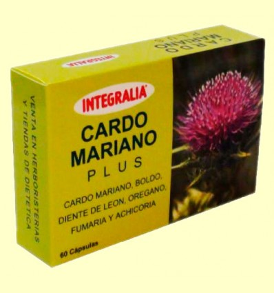 Cardo Mariano Plus - Integralia - 60 cápsulas
