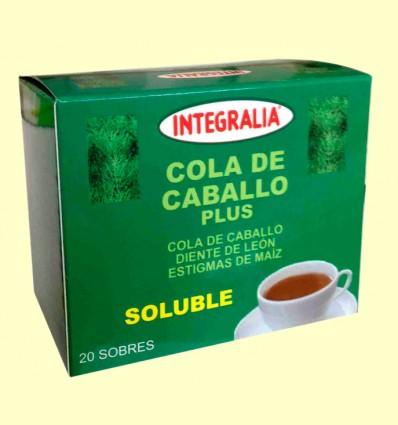 Cola de Caballo Plus Soluble - Integralia - 20 sobres