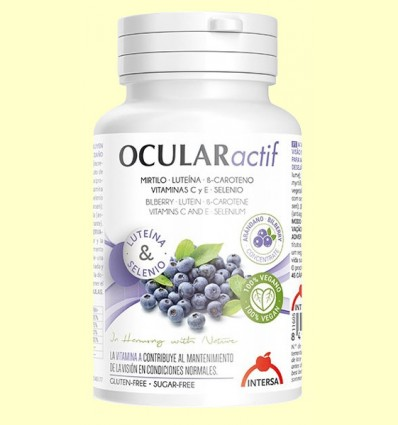 Ocular Actif - Dietéticos Intersa - 45 cápsulas