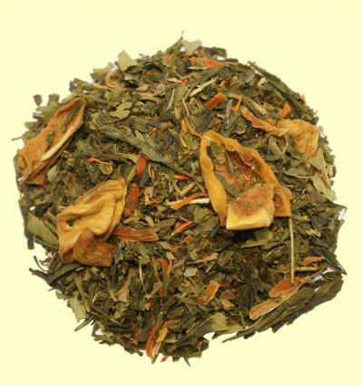 Té Verde con Cáñamo y Mango aromatizado