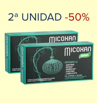 Micoxan Immunflu - Santiveri - 2ª unidad 50% dto - 40 cápsulas