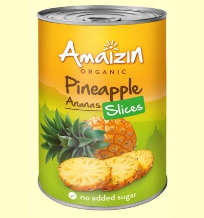 Rodajas de Piña Bio - Amaizin - 400 gramos