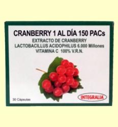 Cranberry 1 al Día 150 PACs - Integralia - 30 cápsulas