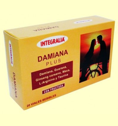 Damiana Plus - Integralia - 20 viales