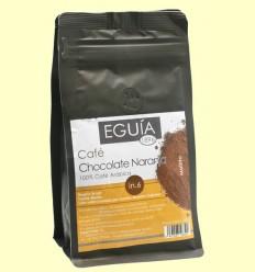 Café Molido 100% Arábica Chocolate Naranja - Eguía - 250 gramos