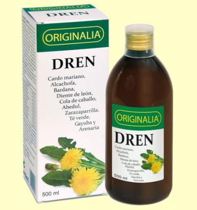 Dren Jarabe Originalia - Control del peso - Integralia - 500 ml