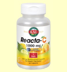 Reacta C 1000 mg - Vitamina C - Laboratorios Kal - 60 comprimidos