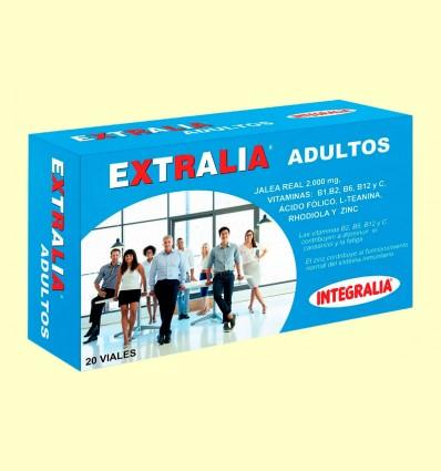 Extralia Adultos - Jalea Real - Integralia - 20 viales
