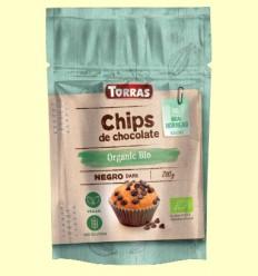 Chips de Chocolate 52% Cacao Bio - Torras - 200 gramos