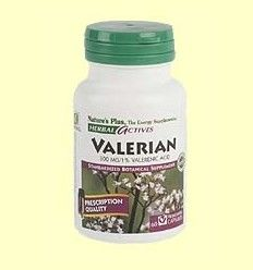 OFERTA-70% - Valerian Root - Raíz de Valeriana - Natures Plus - 60 vegicaps - CAD: 31-07-2017