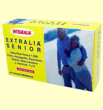 Extralia Senior - Jalea Real 1500 - Integralia - 20 viales