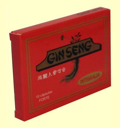 Ginseng Coreano Forte - Integralia - 10 cápsulas
