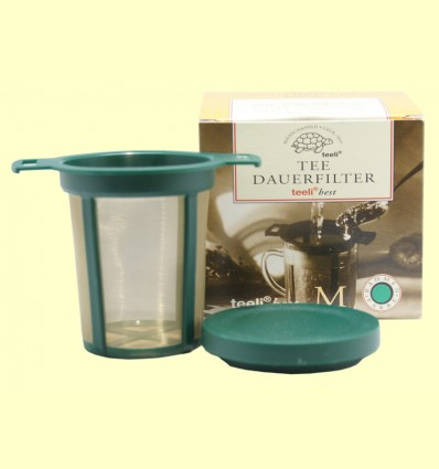 Filtro Permanente para Té Verde M - Teeli - 65 - 95 mm