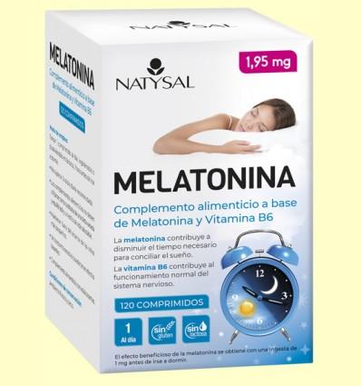 Melatonina 1,95 mg - Natysal - 120 comprimidos