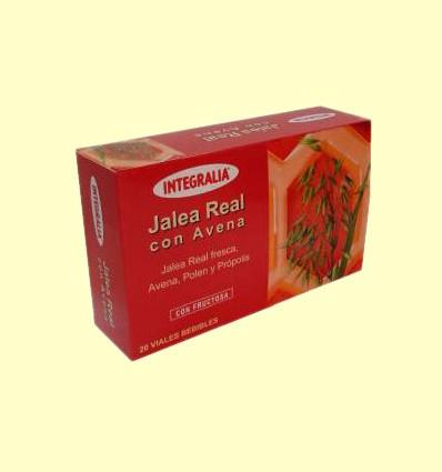 Jalea Real con Avena - Integralia - 20 ampollas