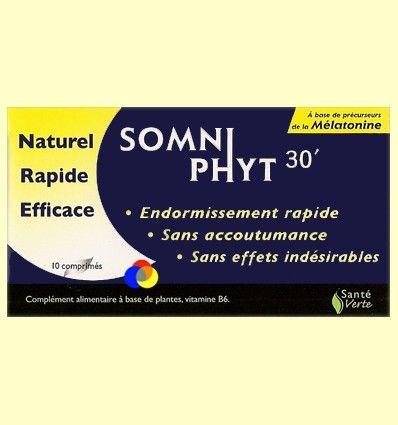 Somniphyt 30 - Para la noche - Santé Verte - 10 comprimidos ******