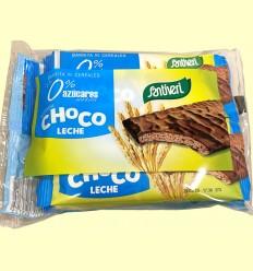 Barrita de Cereales Chocolate con Leche - Santiveri - 6 unidades