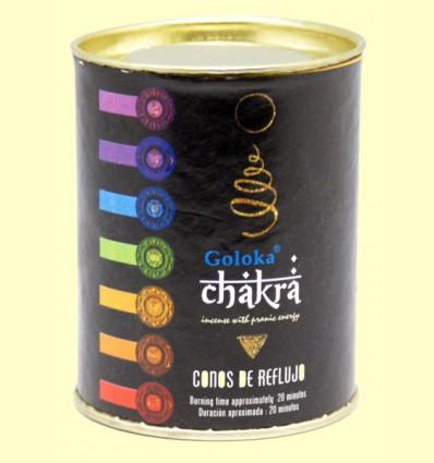Conos de Incienso Chakra - Goloka - 18 conos