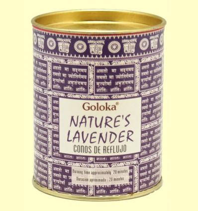 Conos de Incienso Nature Lavanda - Goloka - 18 conos