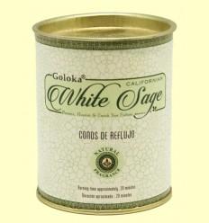 Conos de Incienso White Sage - Salvia Blanca - Goloka - 18 conos