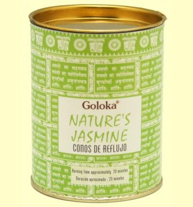 Conos de Incienso Nature Jazmín - Goloka - 18 conos