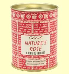 Conos de Incienso Nature Rose - Goloka - 18 conos