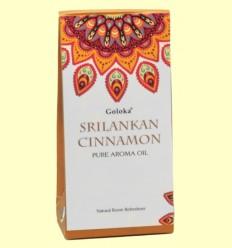 Aceite Esencial Srilankan Cinnamon - Canela - Goloka - 10 ml