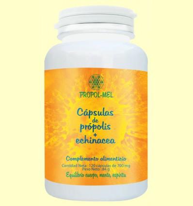 Cápsulas de Própolis y Equinácea 500 mg - Propolmel - 120 cápsulas