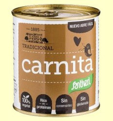 Carnita - Proteínas vegetales - Santiveri - 300 gramos