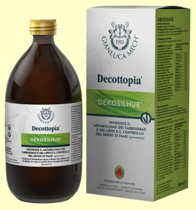 Dekosilhue Decottopia - Efecto fisiológico - Gianluca Mech - 500 ml