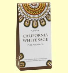 Aceite Esencial California White Sage - Salvia Blanca - Goloka - 10 ml