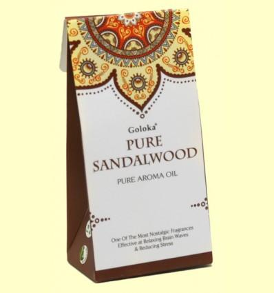 Aceite Esencial Pure Sandalwood - Goloka - 10 ml