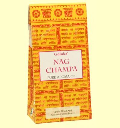 Aceite Esencial Nag Champa - Goloka - 10 ml