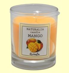 Vela Aromática de Mango en Vaso de Cristal - Aromalia - 1 unidad