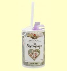 Mikado Ambientador Flor de Tiare Decoupage - Aromalia - 100 ml