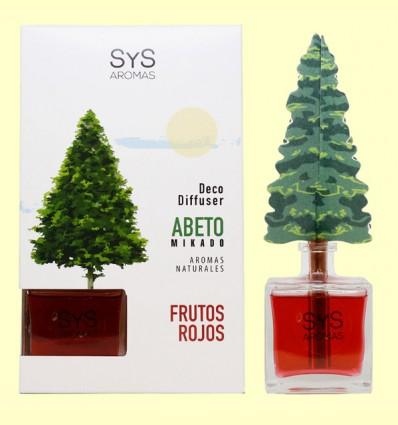 Ambientador Difusor Abeto Frutos Rojos - Laboratorio SyS - 90 ml