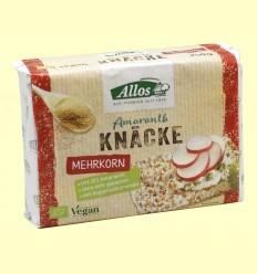 Pan crujiente Amaranto y Mezcla de Cereales - Allos - 250 gramos