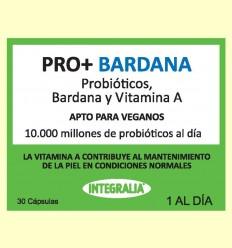 Pro+ con Bardana - Probióticos - Integralia - 30 cápsulas