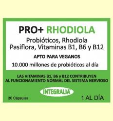 Pro+ con Rhodiola - Probióticos - Integralia - 30 cápsulas